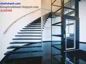 khung thang máy bằng thép 1