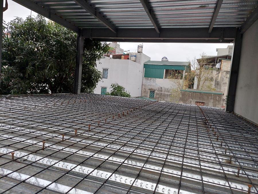 Công trình nhà thép cho tư gia tại Hoàng Mai, Hà Nội